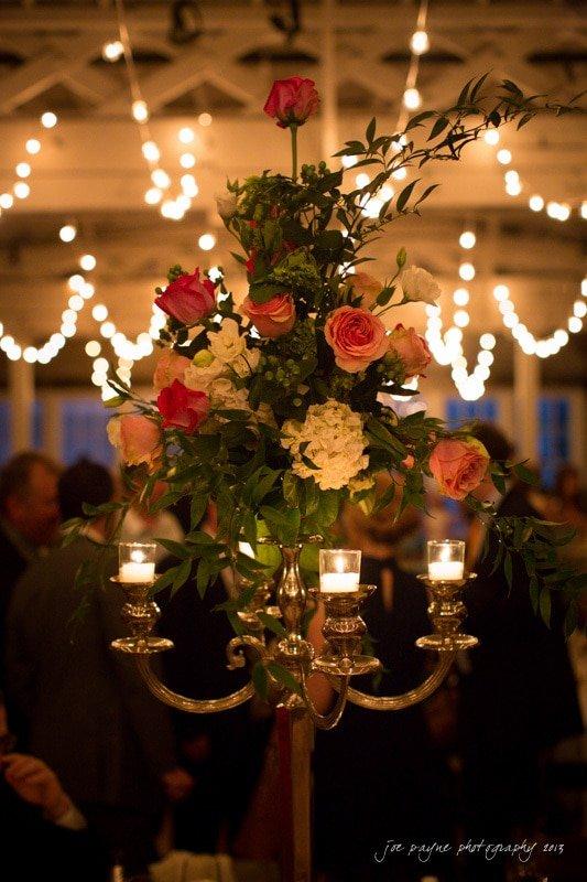raleigh wedding floral centerpieces