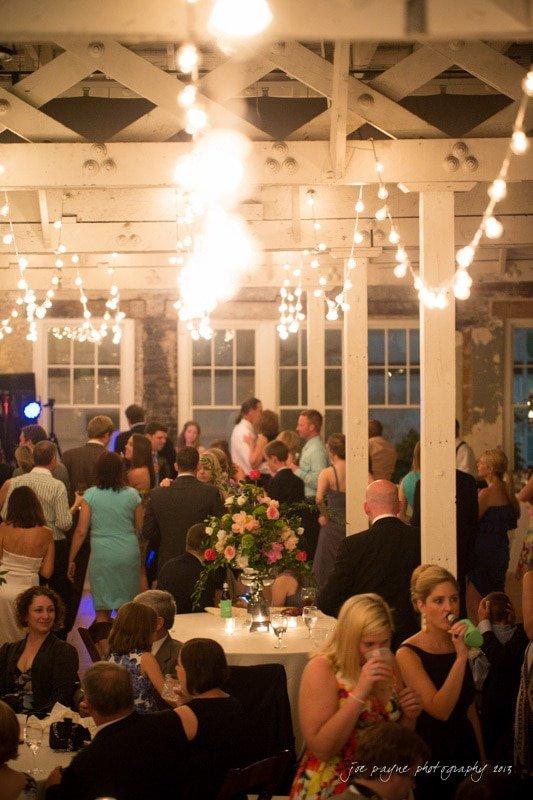 view of stockroom raleigh wedding