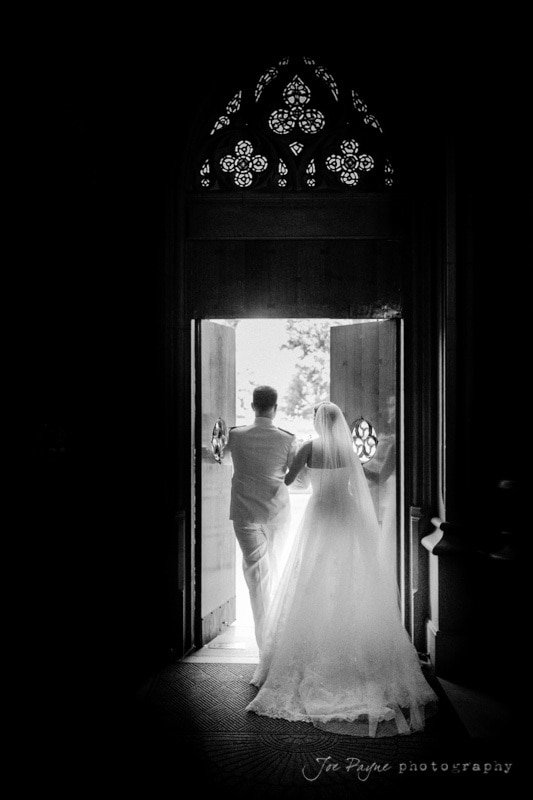 duke chapel wedding exit