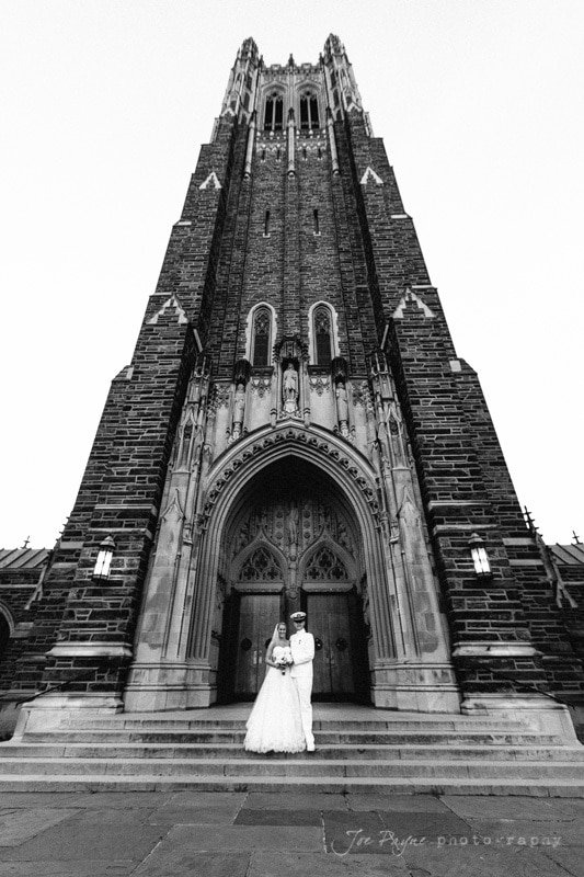 duke chapel wedding photographers