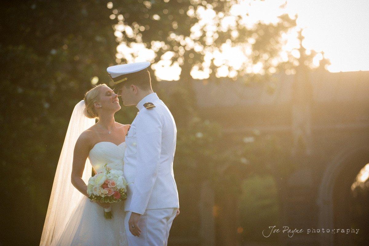 duke chapel wedding portrait
