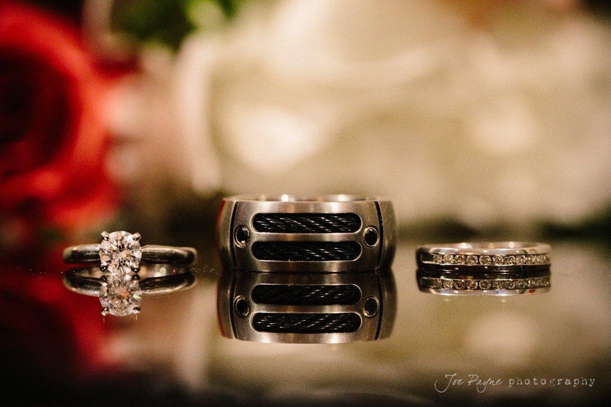 ring detail at doris duke center