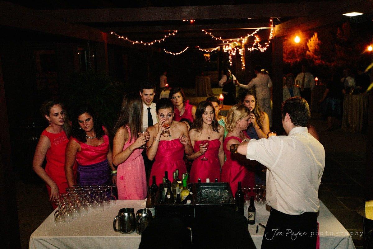 last call at doris duke center wedding