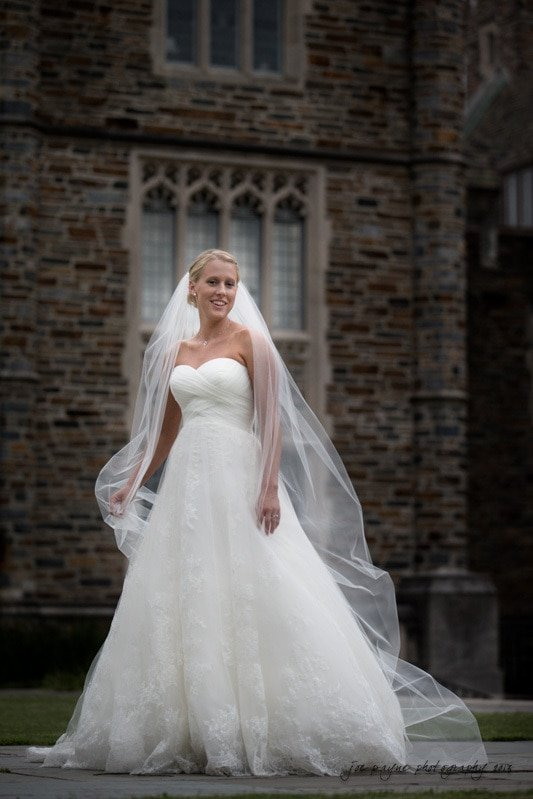 duke university bridal image