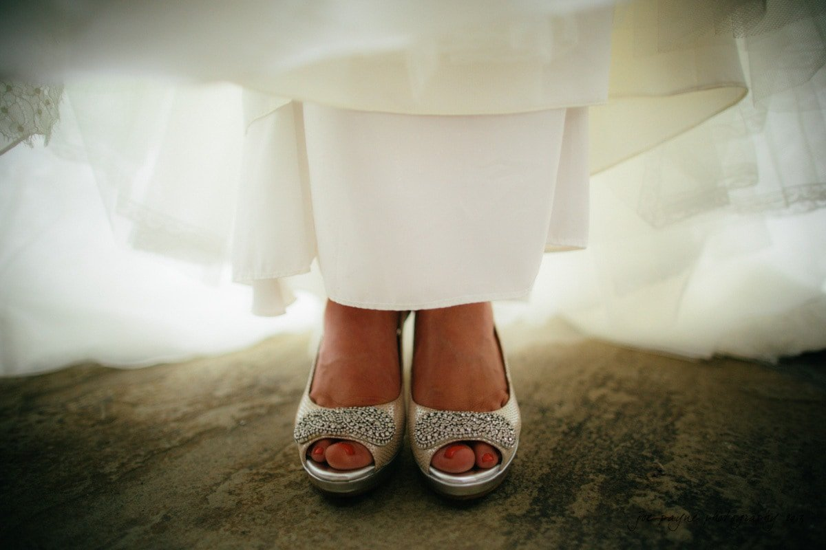 bride pedicure
