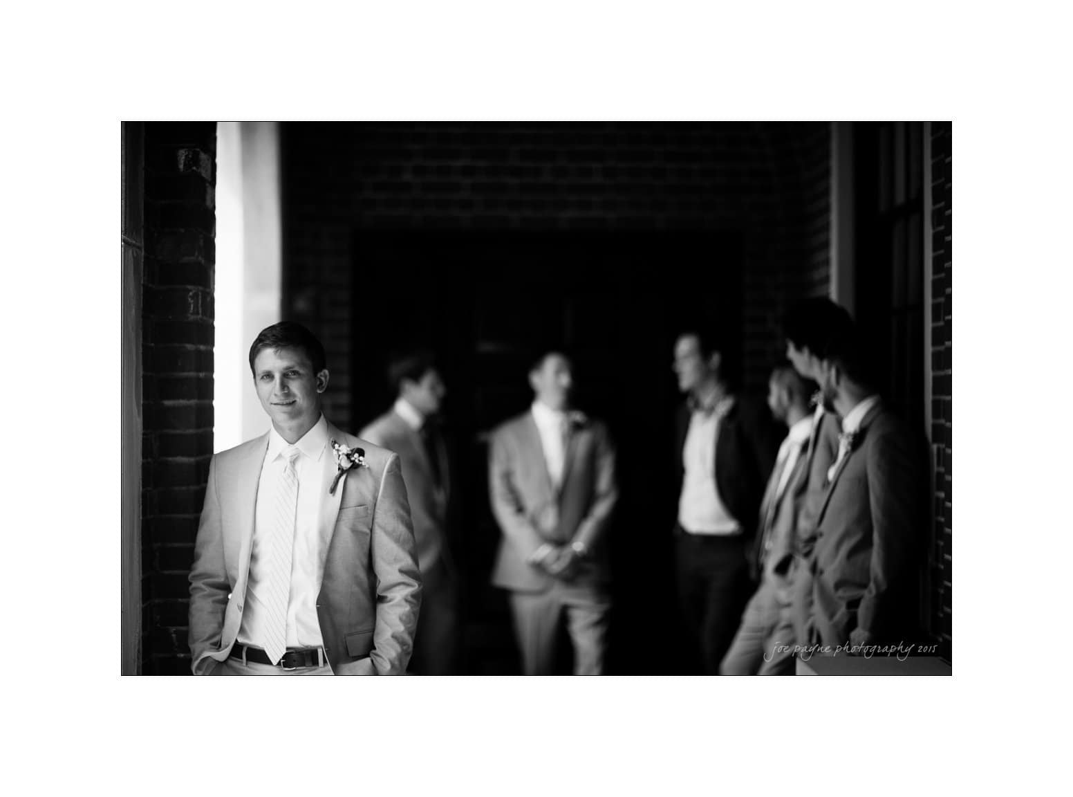 nc wedding photographer groom and groomsmen
