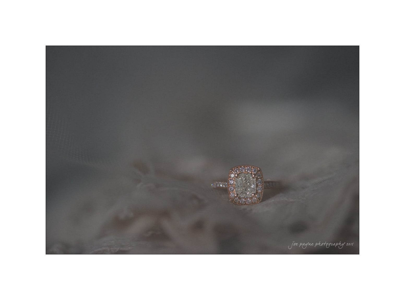 nc wedding photographer ring and dress detail