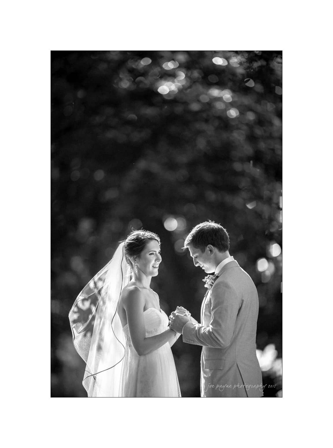 nc wedding photographer B&W B&G