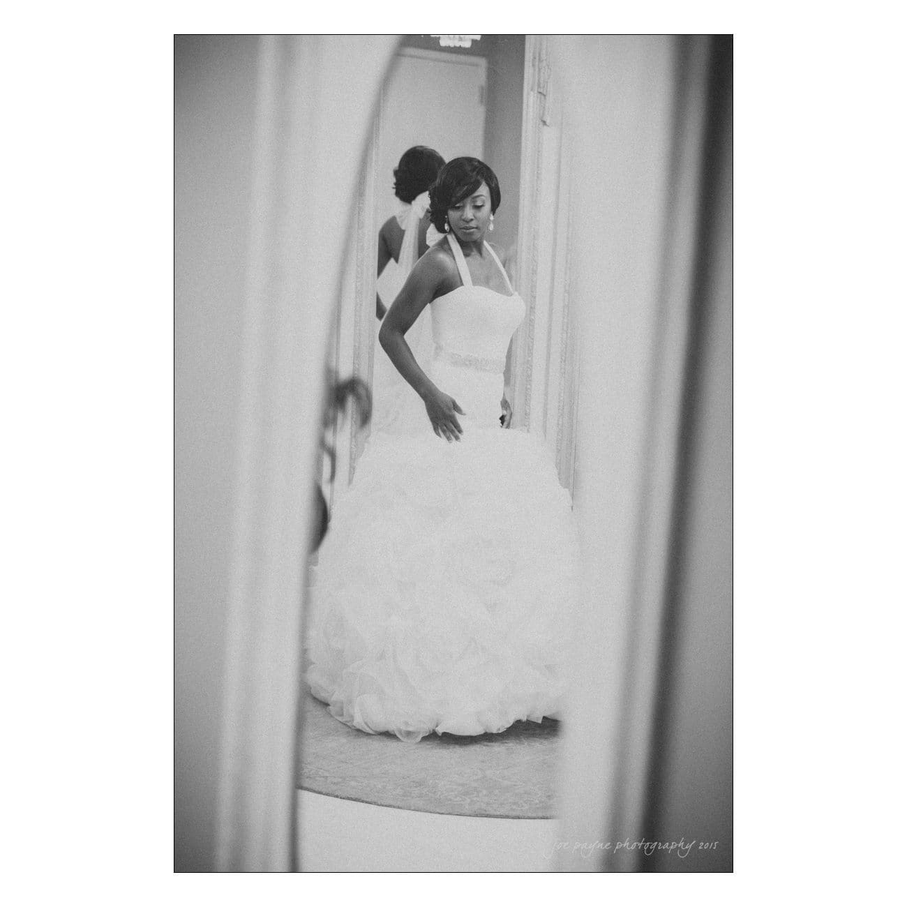 Grand Marquise wedding photography bridal portrait mirror