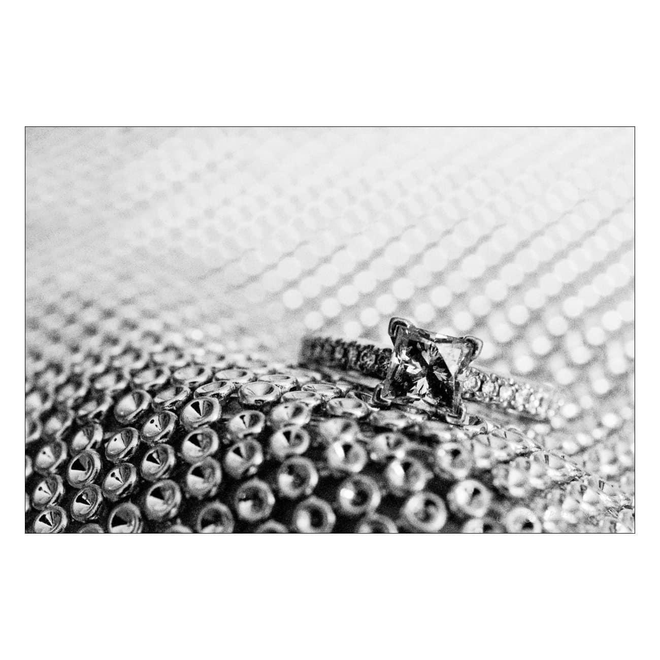 Grand Marquise wedding photography ring macro detail bokeh