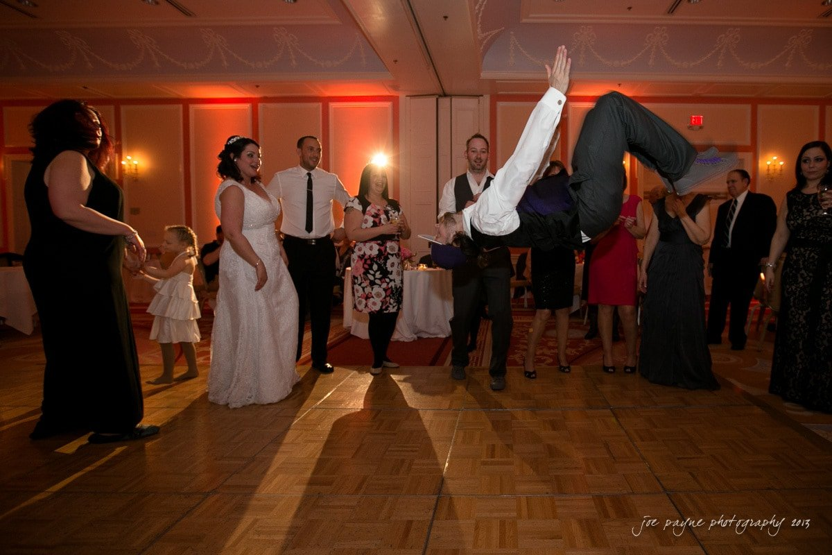 best man back flip