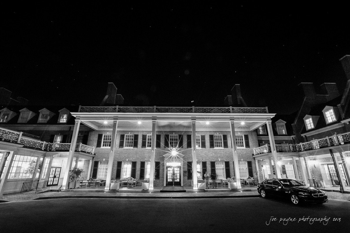 carolina inn at night