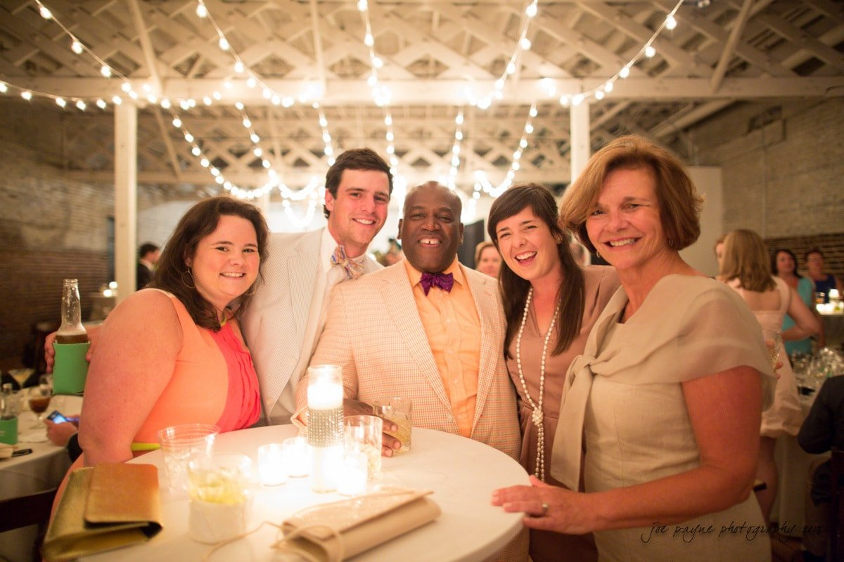 raleigh wedding guests at stockroom