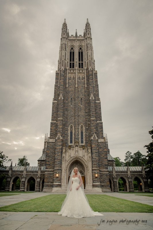 duke chapel bride