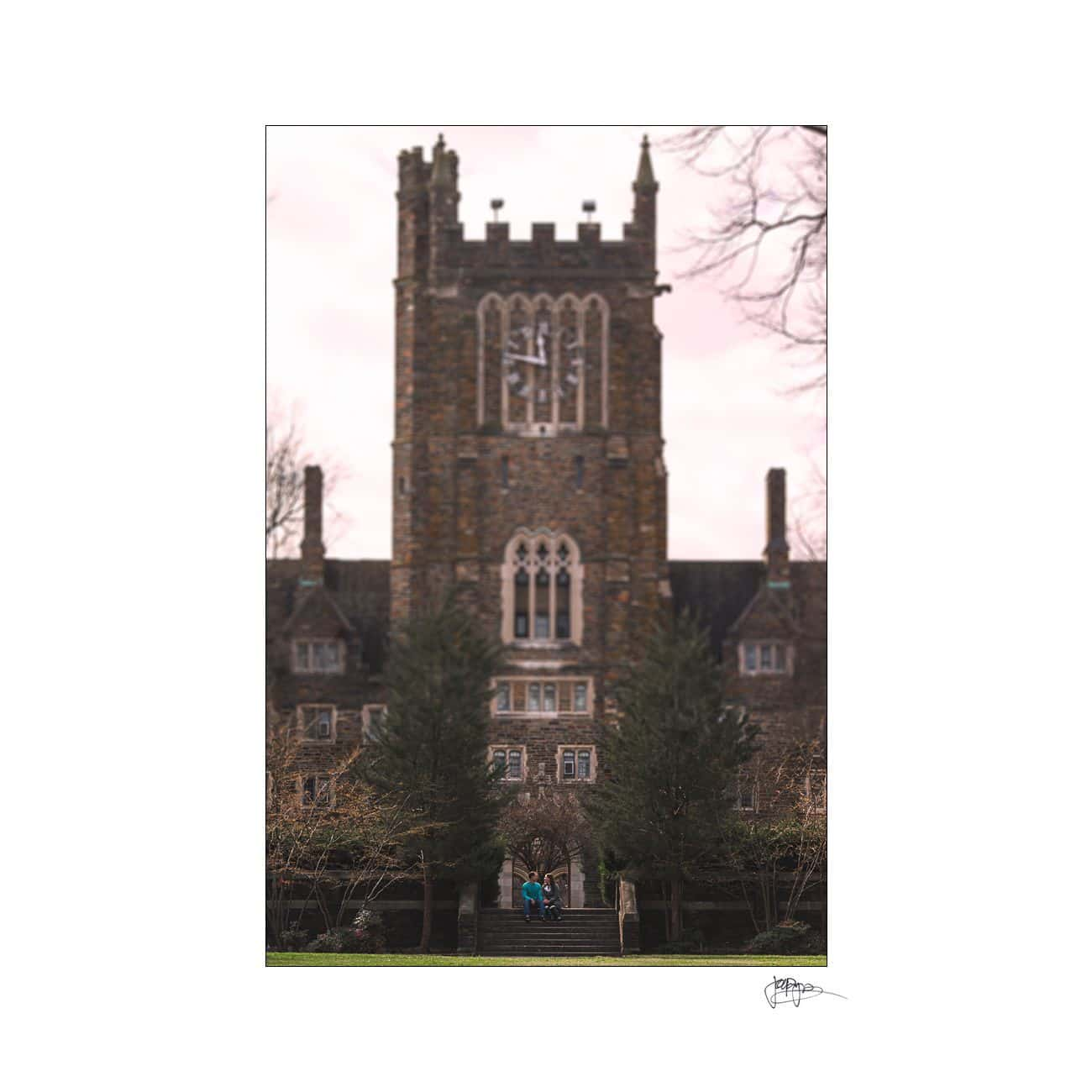 duke university engagement tilt shift