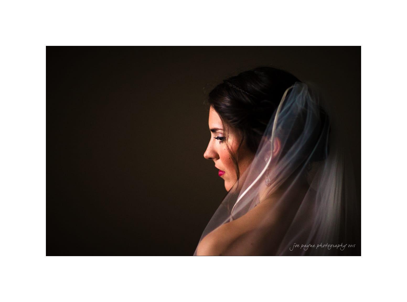 nc wedding photographer color bridal photo natural light