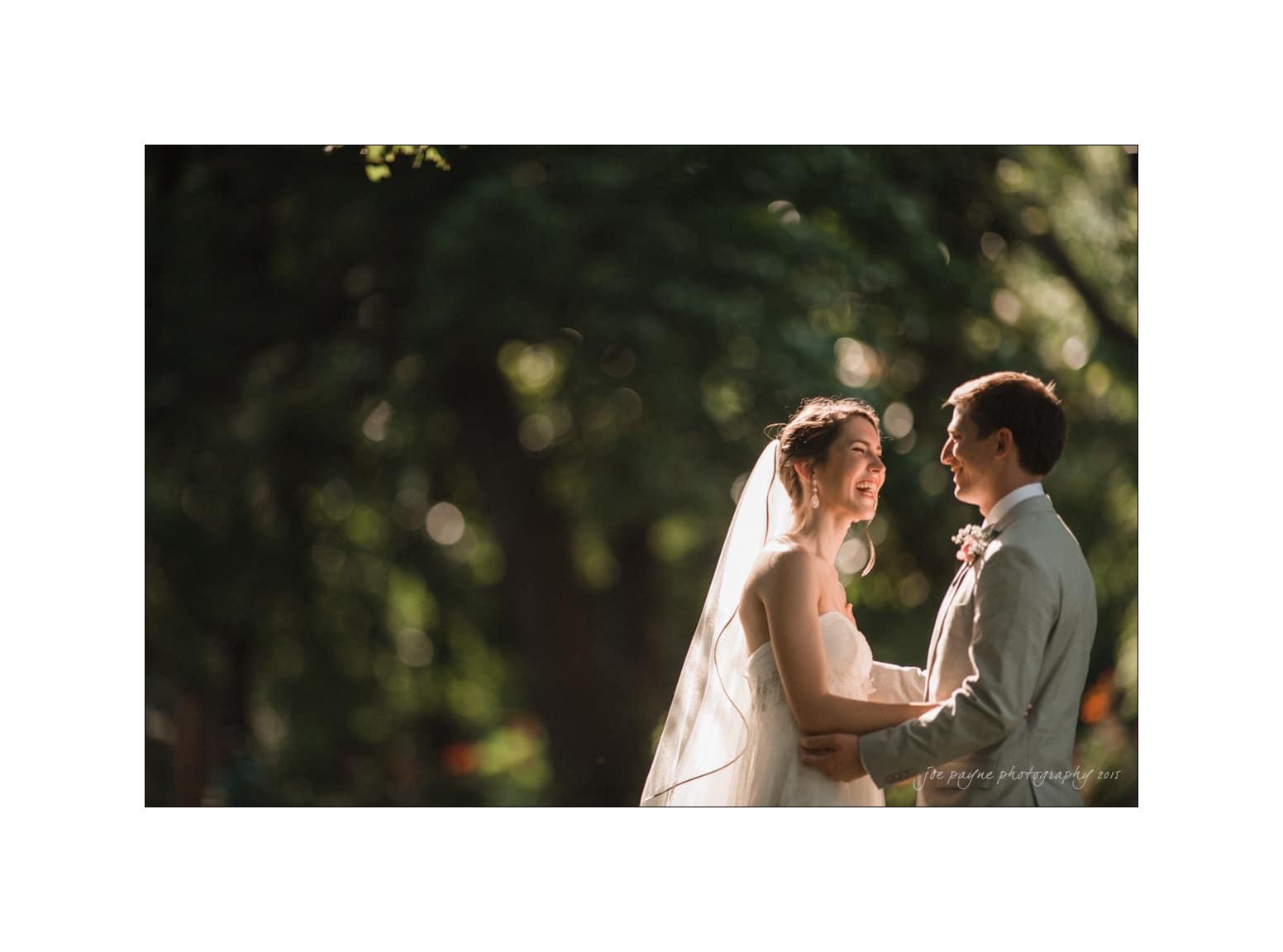 nc wedding photographer bride groom bokeh