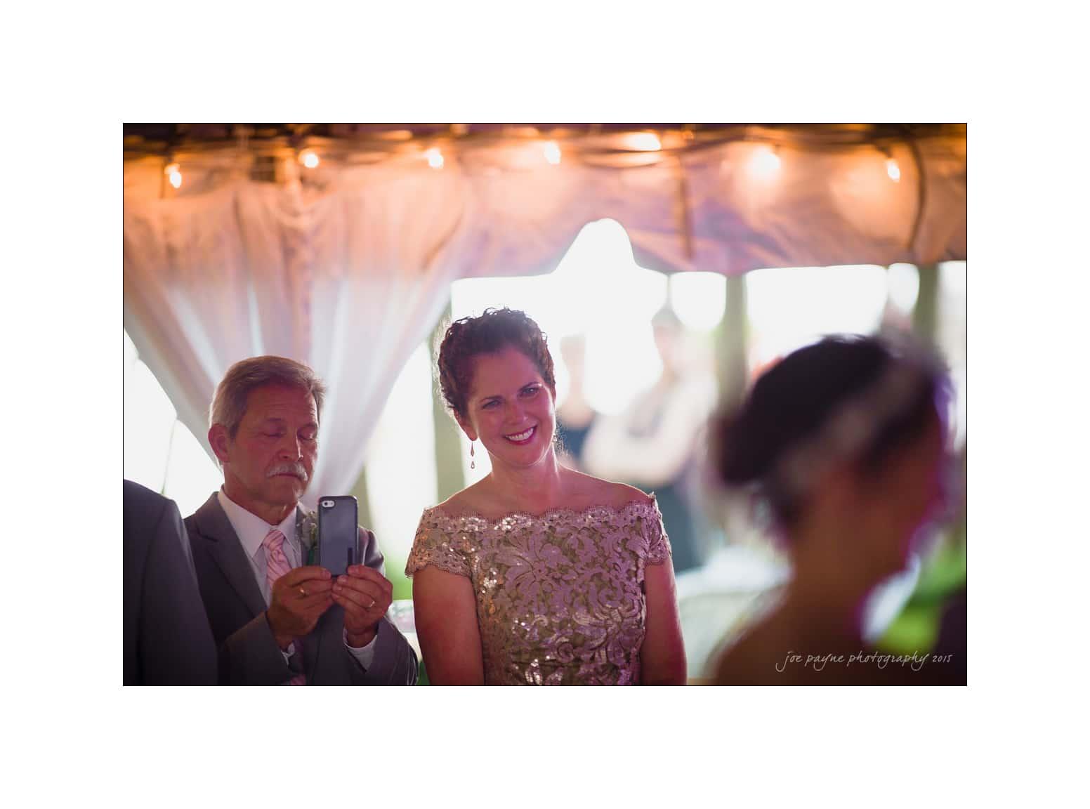 nc wedding photographer first dance emotional parents
